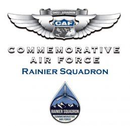 CAF and Rainier logo